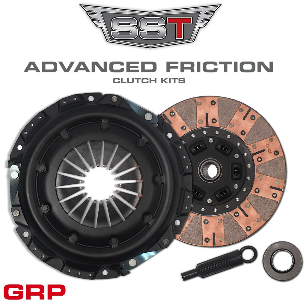 "SST 10.5"" X 1-1/8 26 Spline Clutch Kit Advanced Friction™ GRP"