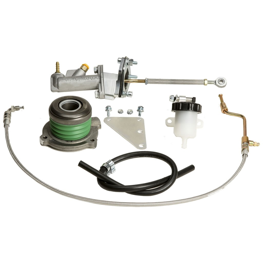 Hydraulic Clutch System For TREMEC TKO, TREMEC Magnum, TREMEC T56 LS, and Muncie 4-Speeds