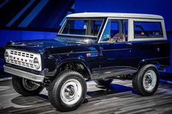 FORD PERFORMANCE AND SEMA GARAGE TEAM UP WITH JAY LENO TO RESTORE, UPGRADE CLASSIC 1968 BRONCO ON DISPLAY AT SEMA