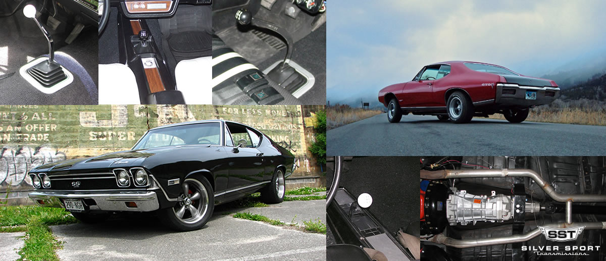 TREMEC Overdrive Conversion Kits for 1968-1972 GM A Body: Chevelle, Tempest, GTO, El Camino, LeMans, Skylark, 442, Cutlass, Beaumont, Special