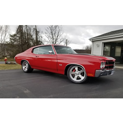1970 Chevrolet Chevelle TREMEC TKO 5-Speed