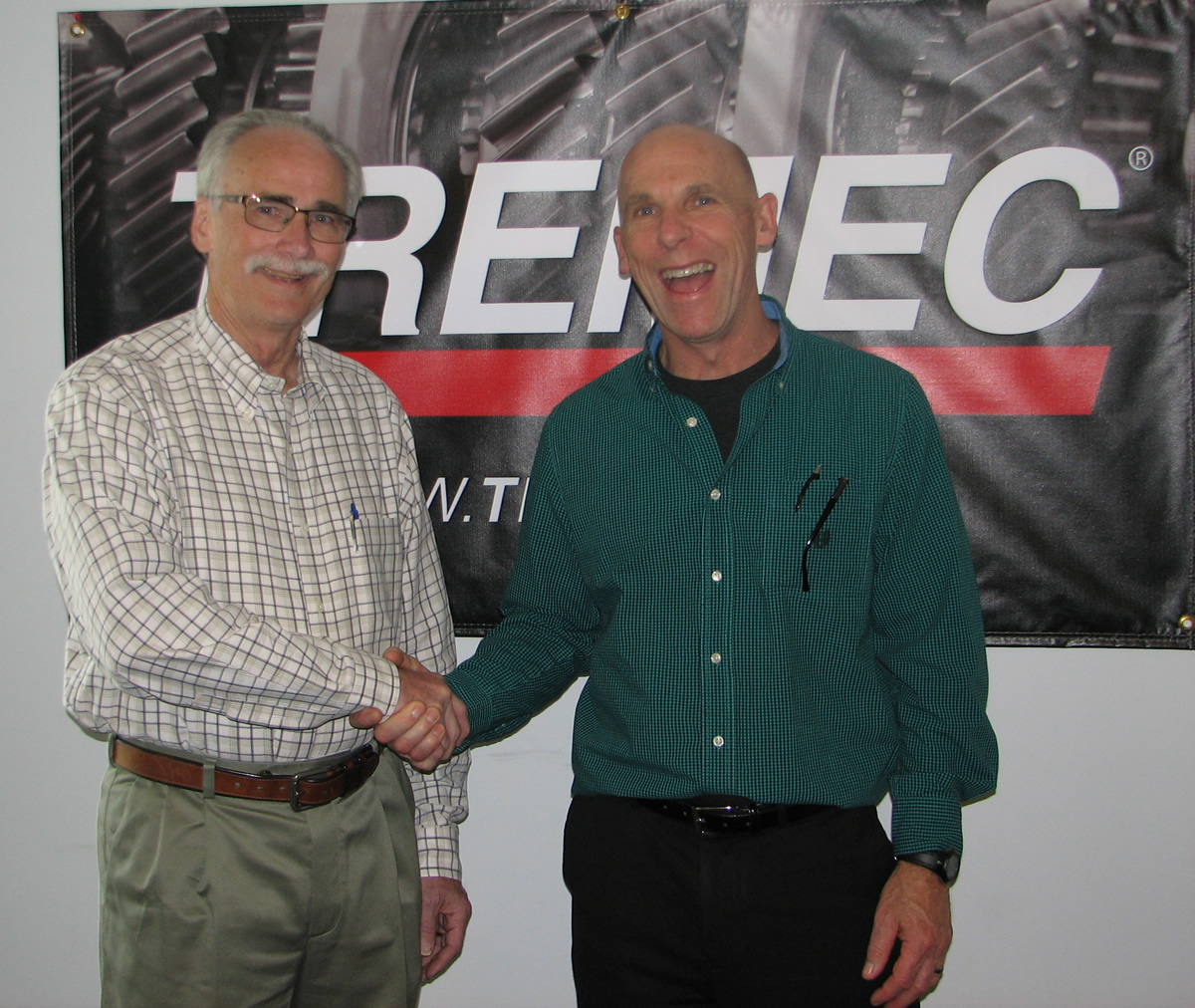 Jack Silver and Jim Averill of TREMEC Transmissions