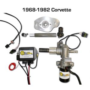 Electric Power Steering Kit for 1968-1982 C3 Corvette