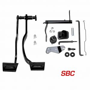 SBC Pedal and Clutch Linkage Kit - 1969 GM F-Body and 1968-74 GM X-Body