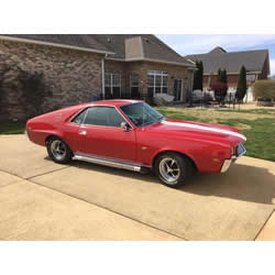 1969 AMC AMX with TREMEC TKO 5-Speed