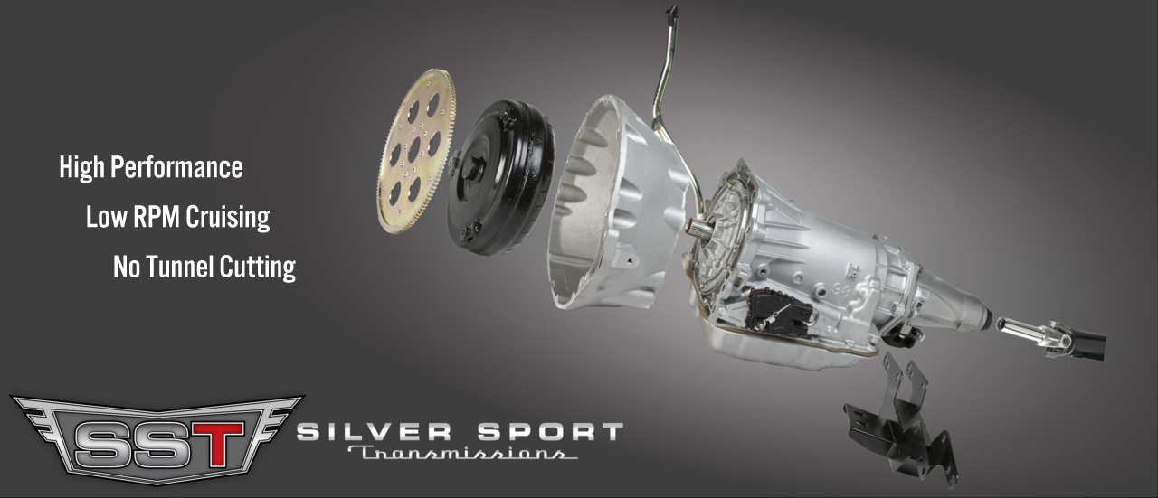 Silver Sport Transmissions A41 4-Speed Automatic 4L60E PerfectFit Kit 1964-1967 GM A Body: Chevelle, Tempest, GTO, El Camino, LeMans, Skylark, 442, Cutlass, Beaumont, Special
