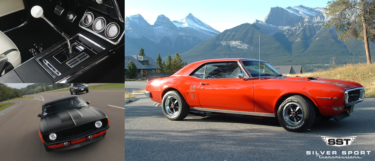 1967-1969 Camaro and Firebird Overdrive Kits