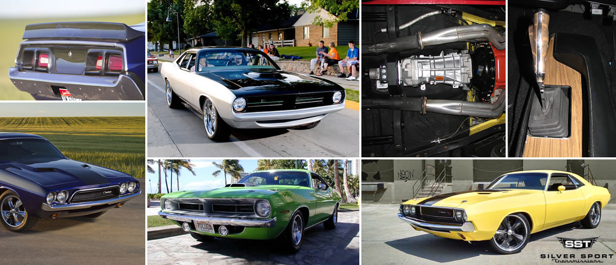 TREMEC Conversion Kits for MOPAR E-Body