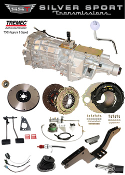 Tremec Magnum Basic Kit for 1966-1970 Charger, Satellite, Coronet, GTX, & Super Bee