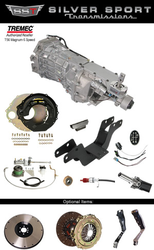 Tremec Magnum Basic Kit for Mopar E 1970-1974 Challenger Barracuda Cuda AAR Gran Coupe T/A SE R/T