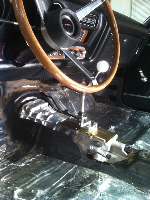 TREMEC Magnum Installed in a 1969 GTO