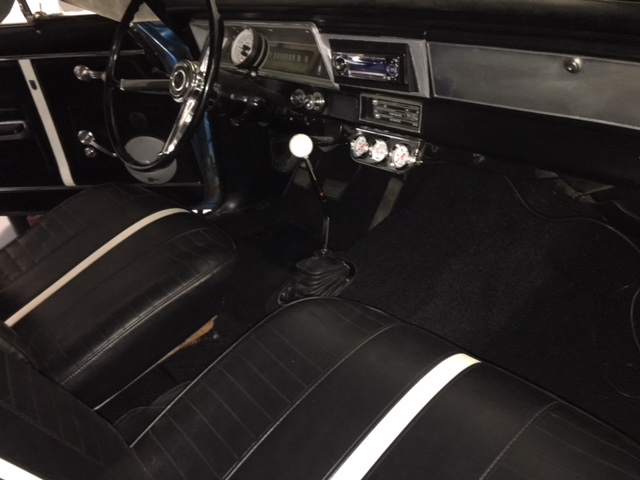 Finished Interior 1967 Nova