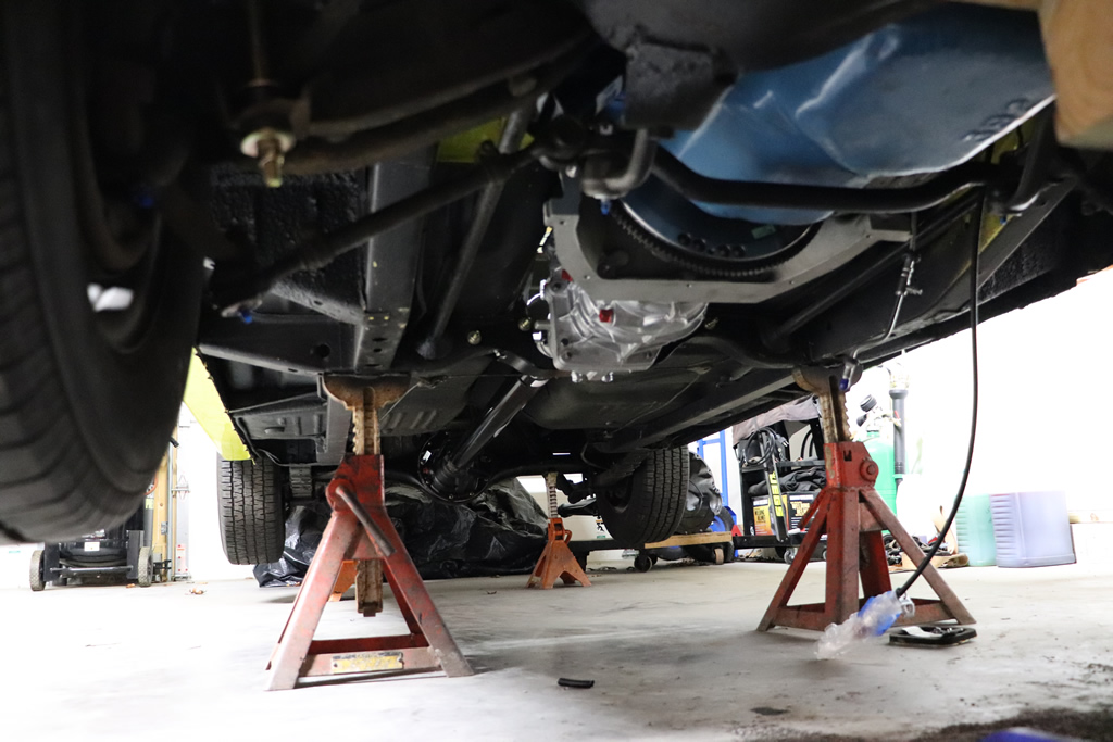 1972 Duster Under Carriage
