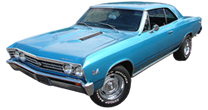 GM A-body 1964-1967 Chevelle, Tempest, GTO, El Camino, LeMans, Skylark, 442, Cutlass, Beaumont, Special