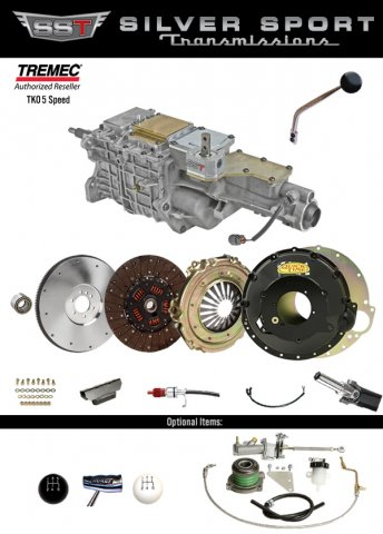 AMC TREMEC TKO 5-Speed PerfectFit Overdrive Conversion Kit